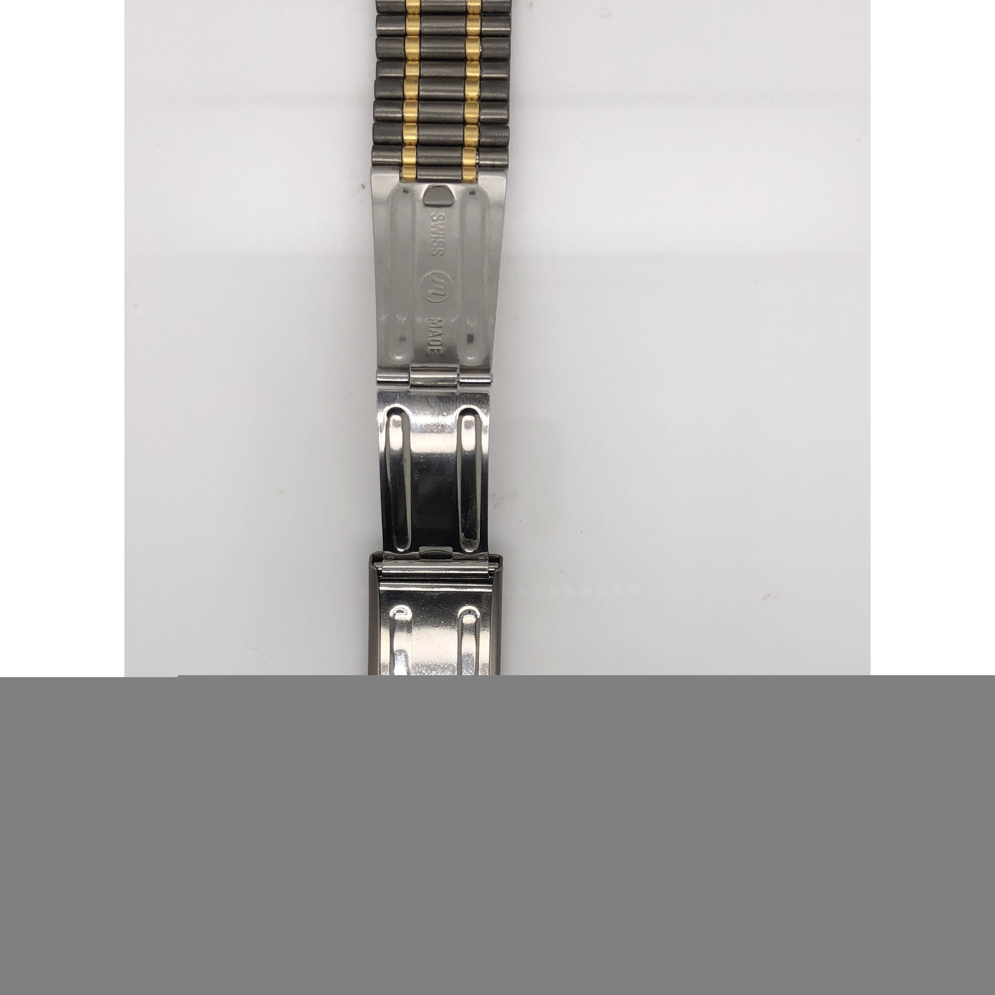 Breitling Two Tone Titanium & 18K Strap Deployment Buckle 20-18mm 104F