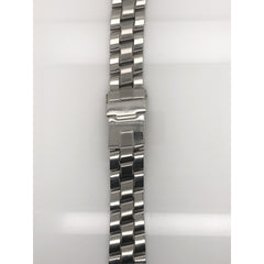 Breitling Silver Stainless Steel Strap Deployment Buckle 18-16 mm 823A