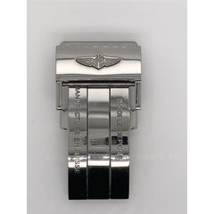 Breitling Toka Silver Stainless Steel Fold Over Buckle 20mm A20D.S