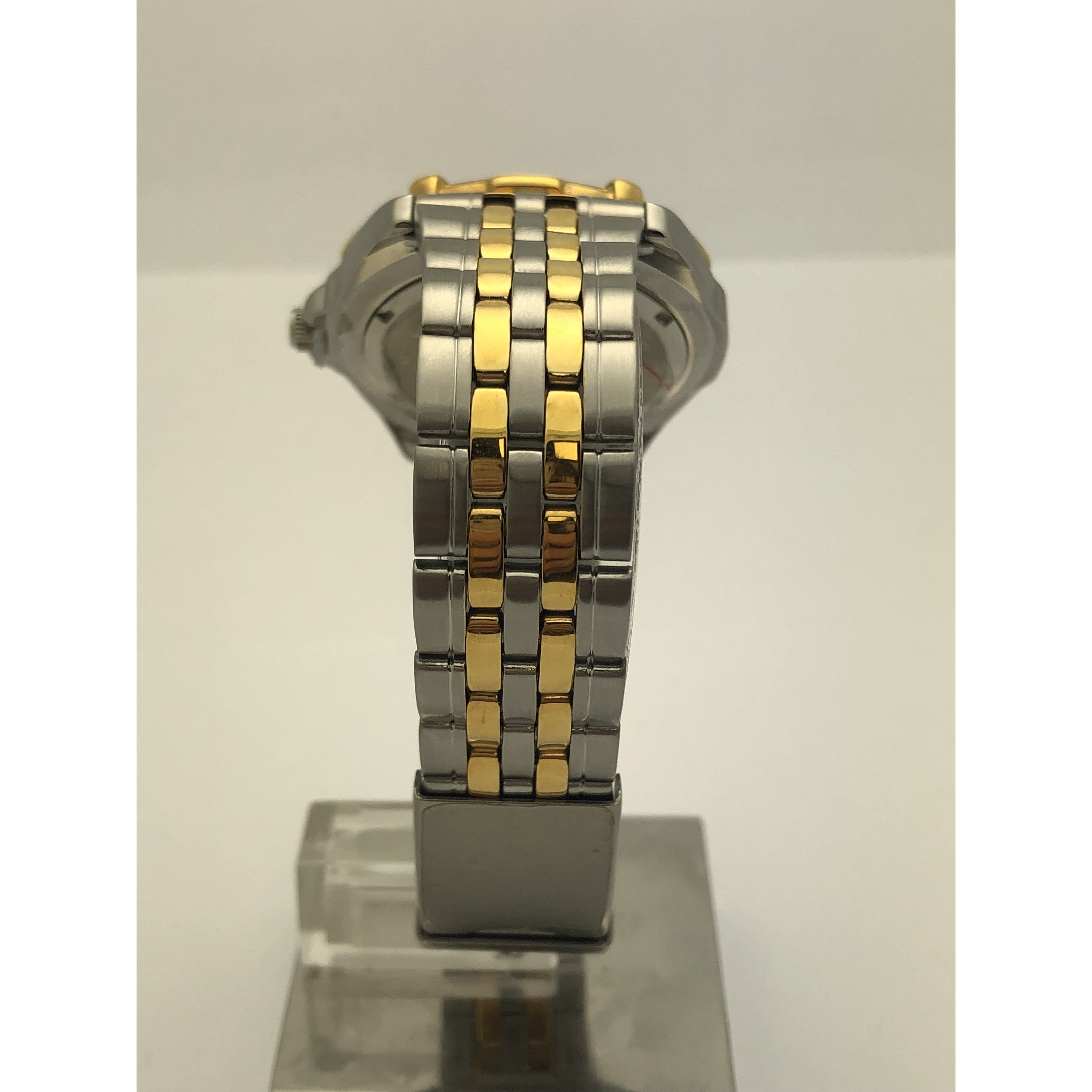 Jets Men's Stainless Steal Gold Plating New York Jets Watch 377