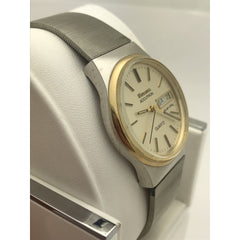 Bulova Accutron Unisex Quartz Champagne Dial Stainless Steel Watch 92502W