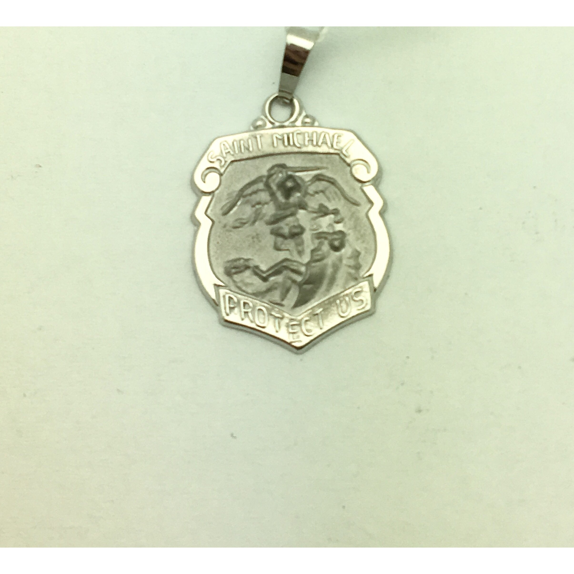 silver us necklace st icoinic saint com christopher coin protect two jewellery pendant sparklingjewellery collections