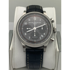 Baume & Mercier Geneve Automatic Gunmetal Dial Swiss Made Watch 5890325