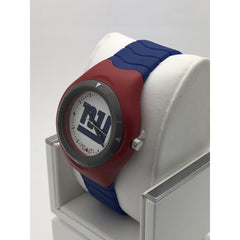 LogoArt Men's New York Giants Quartz White Dial Watch MLBP2004