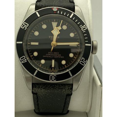 Tudor Geneve Black Bay Automatic Chronometer Black Dial Watch M79230N-0008