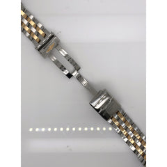 Breitling Two Tone Stainless Steel Strap Deployment Buckle 16-14mm 367C