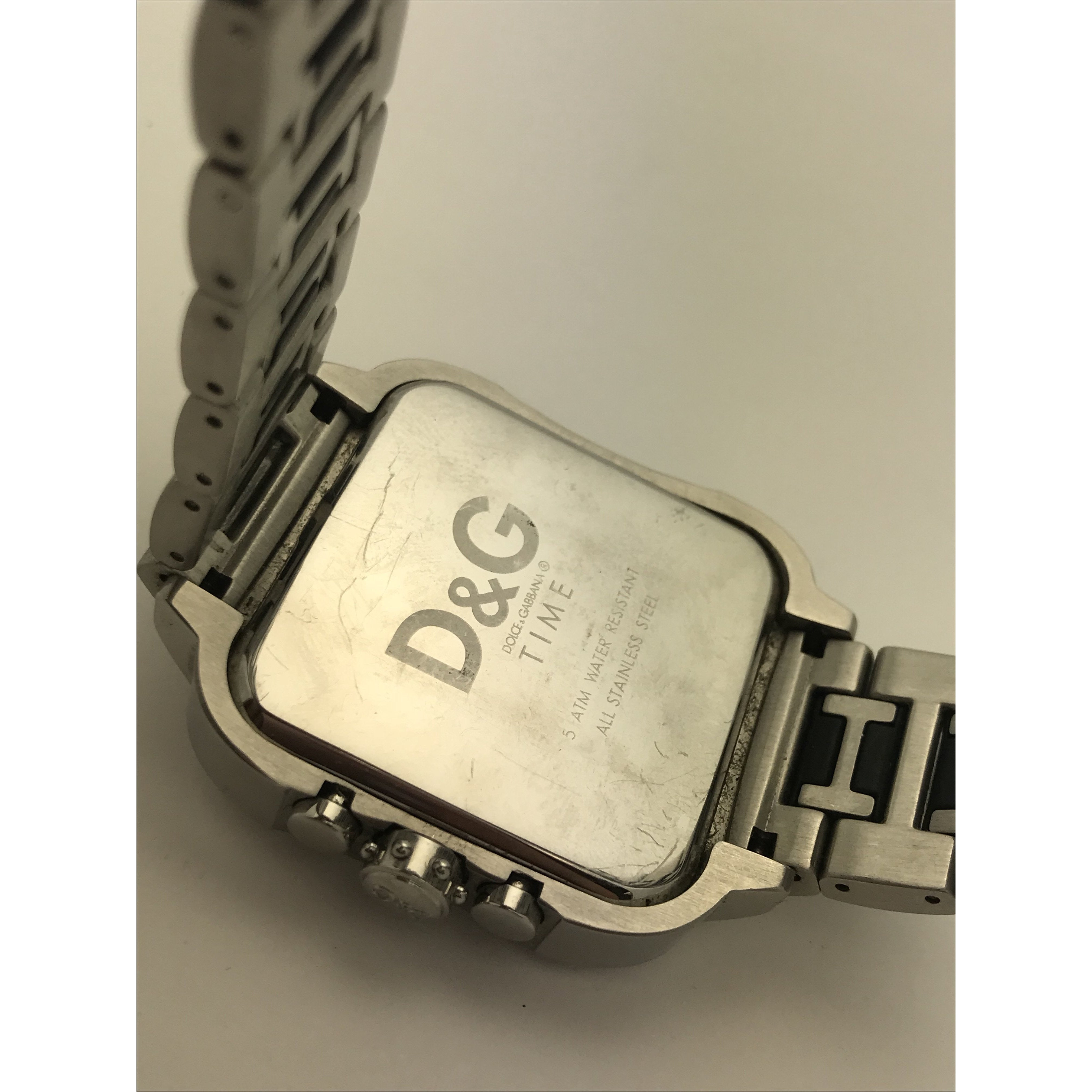 Dolce & Gabbana Men's 'Licensed' Two Tone Stainless Steel Watch DW0246-1