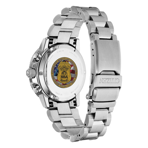 Citizen Ladies Sergeants Benevolent Association Multifunction Dial Crystal Women's Watch FD2041-SBA