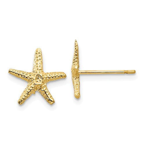 EARBBQGTM766 14k Starfish Post Earrings