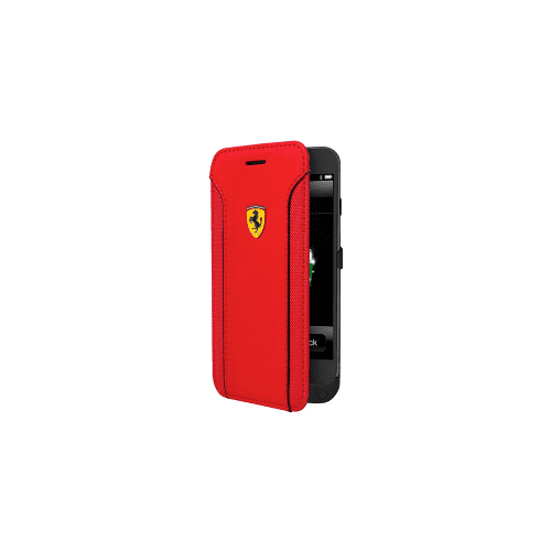 Ferrari Fiorano Apple iPhone 6 Plus Leather Powercase 4200mAh Booktype - Red