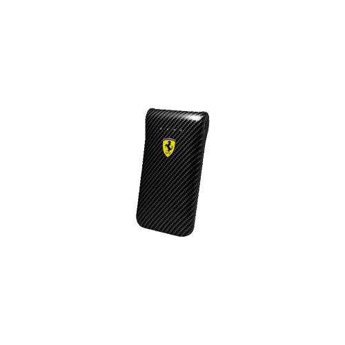 Ferrari Power Bank Carbon Design 5000mAh Dual USB for all Devices