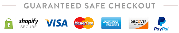 Guaranteed Safe Checkout with Paypal, Visa, Mastercard. Shop with Confidence | Novel Buys