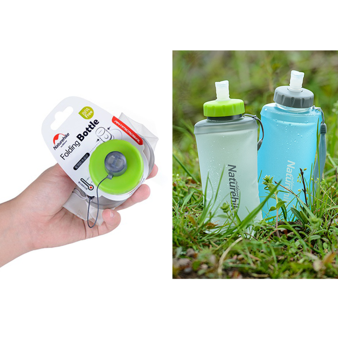 Collapsible Travel Water Bottle - Novel Buys
