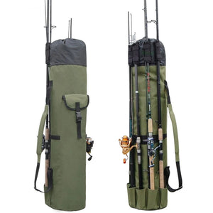 Large Portable Fishing Rod & Tackle Bag - Novel Buys