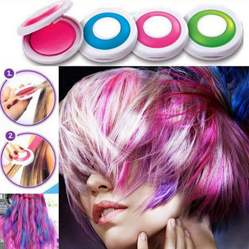 Hot 4 colors Hair Chalk Powder