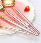 4Pcs/ Stainless Steel Cutlery