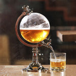 Globe Shaped Drink Dispenser With Tap