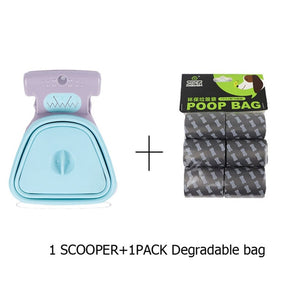Pooper Scooper with bag attached