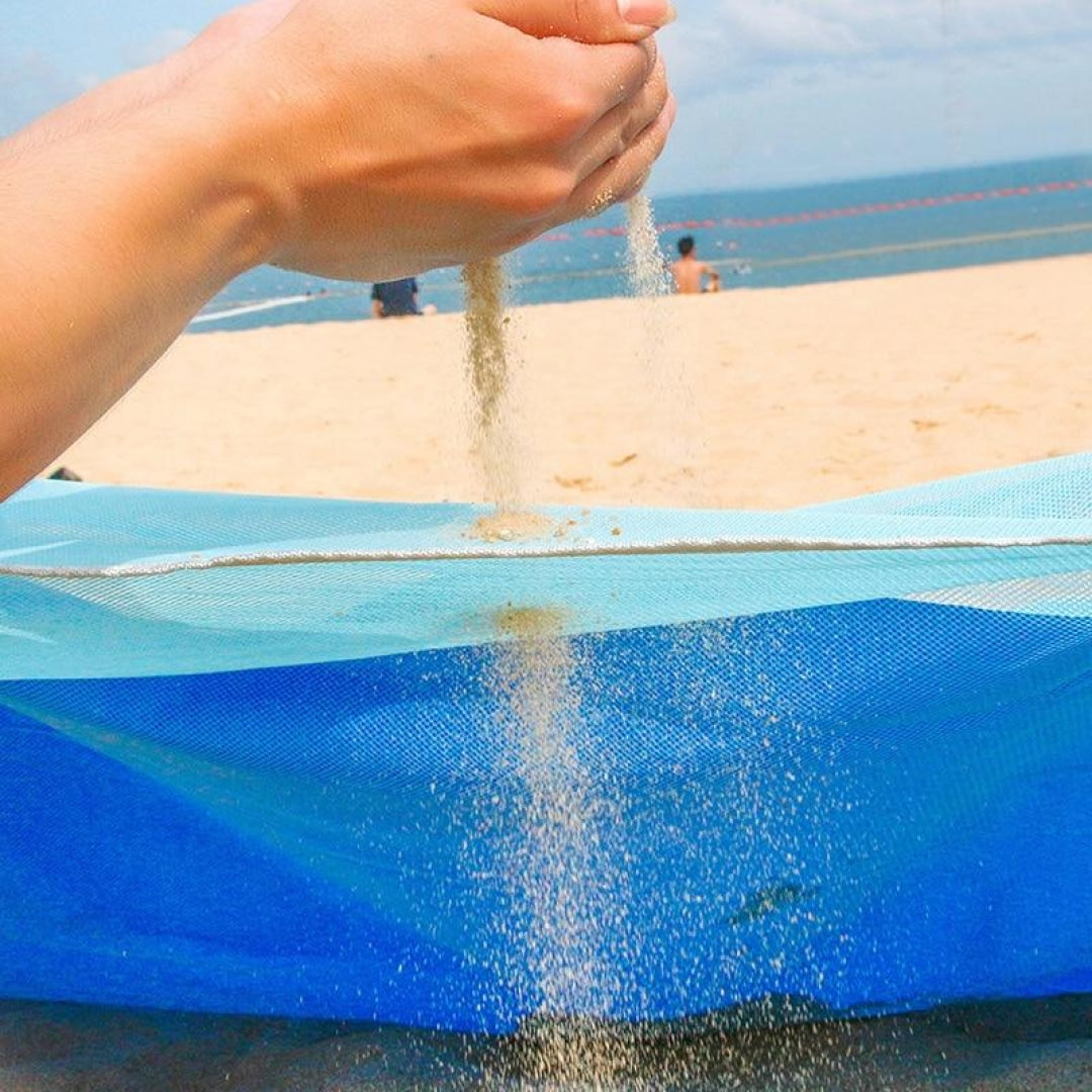 Sand-Free Beach Mat - Novel Buys
