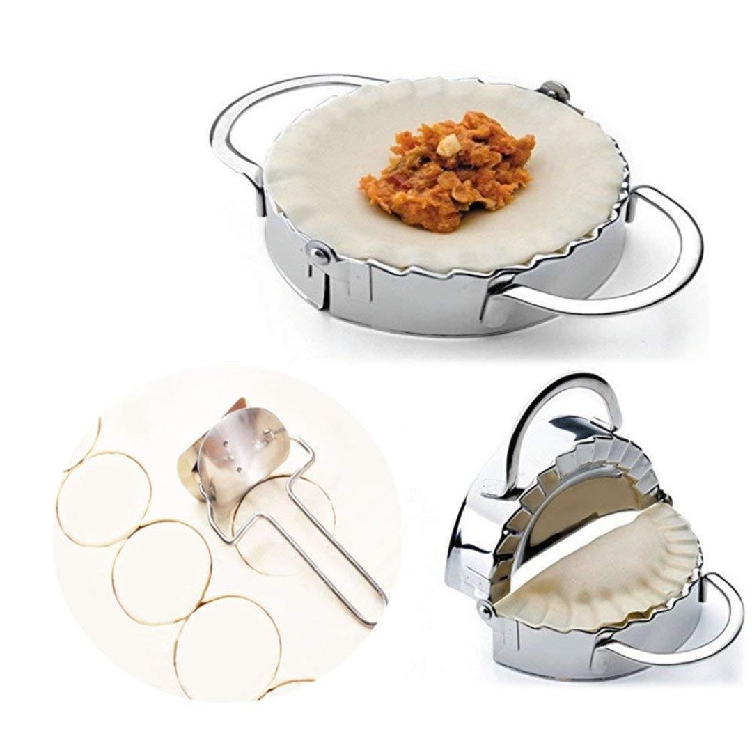 Stainless Steel Dumpling & Empanada Maker - Novel Buys