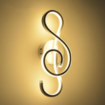 Treble Clef LED Wall Lamp - Novel Buys