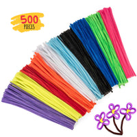 500 Pack Craft Pipe Cleaners