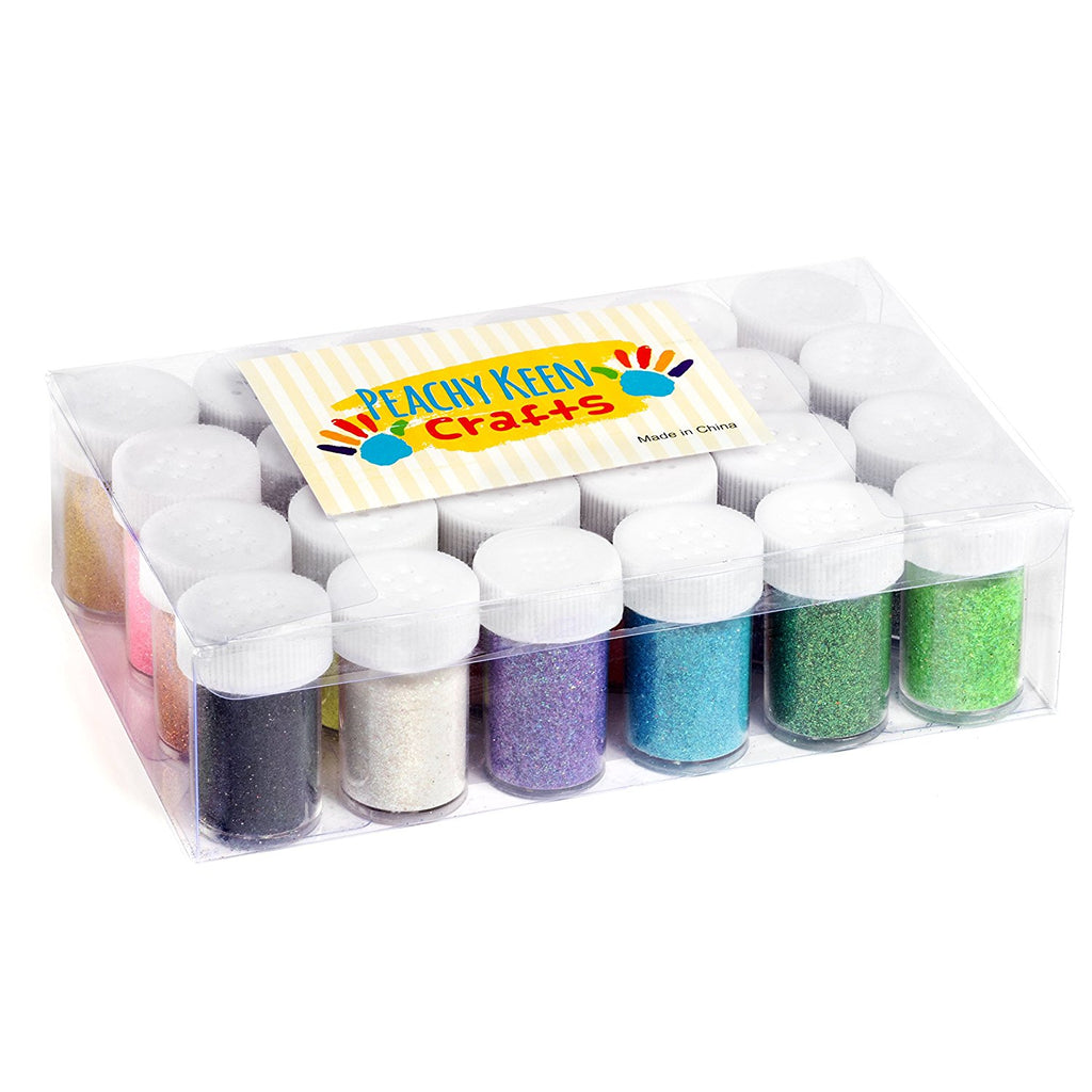 24 Pack Glitter Powder
