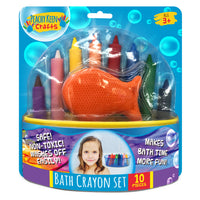 Set of 8 Washable Bathtub Crayons