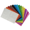 15 Pack Self Adhesive Glitter Foam Paper Sheets