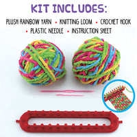 DIY Knit Your Own Scarf Kit