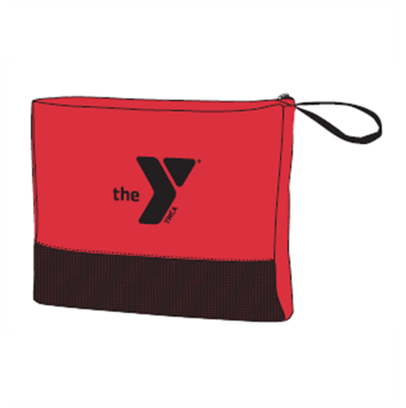 Y Travel Blanket - Red
