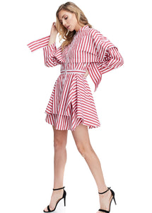 Candy Striper Short Dress