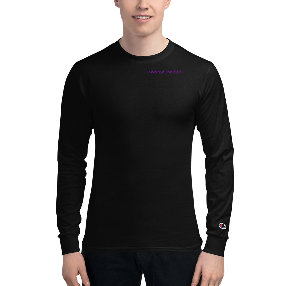 Drippy S Champion Long Sleeve Shirt