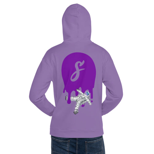 Covered Spaceman Purple/Purple Hoodie