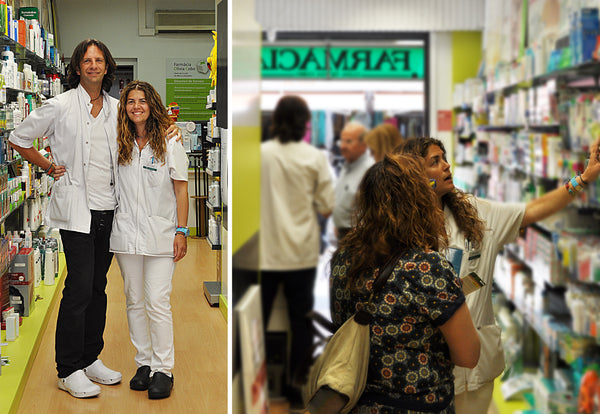 Pharmacy in Barcelona to buy nursing shoes