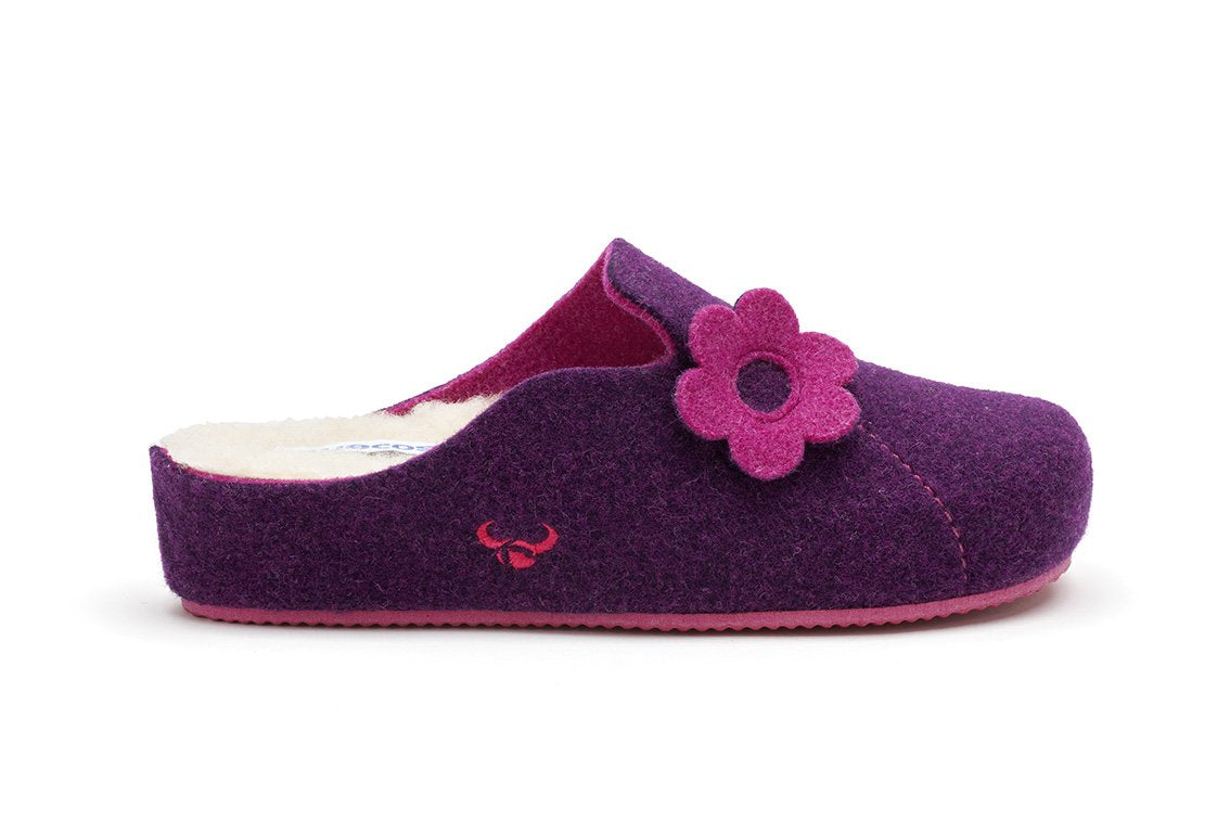 Sansa Heel Ecological Wool (Purple)