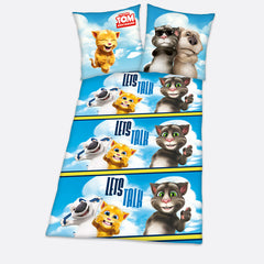 "Talking Tom and Friends ""Clouds"" Bed Linen"