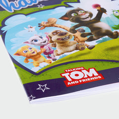 Talking Tom and Friends Squared Paper Notebook A4