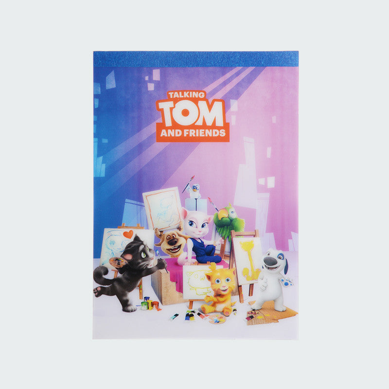 Talking Tom and Friends Painting Memo Pad