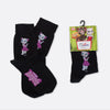 Talking Angela Pink Dress Adults' Socks