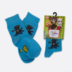 Talking Tom Surfboard Kids' Socks
