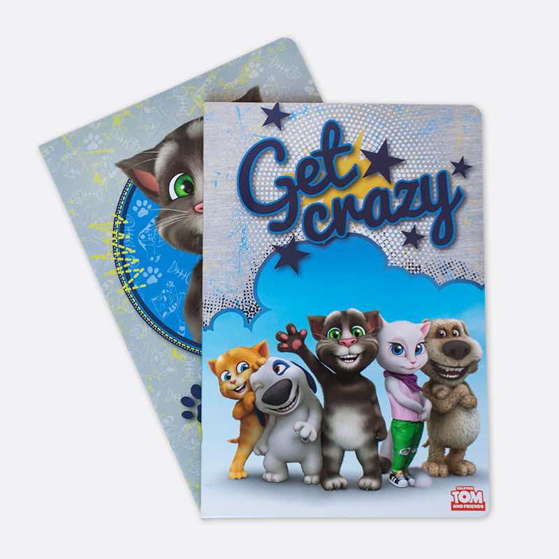 Talking Tom A6 Notebook - Kids Leader of the Pack