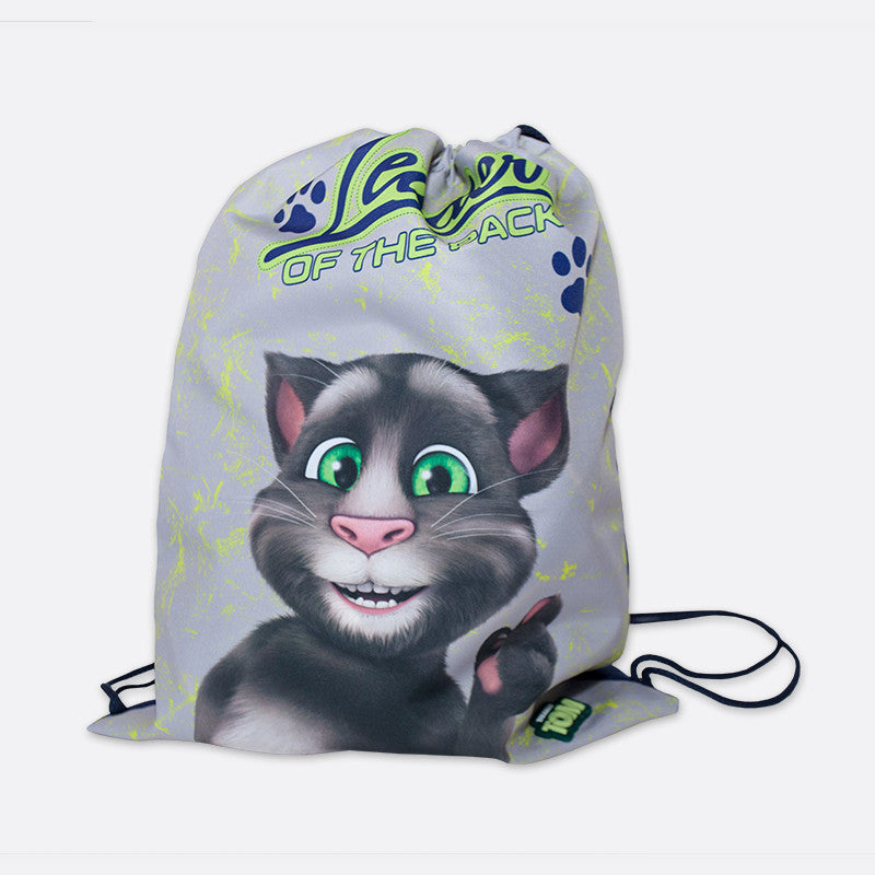 Talking Tom Slipper Bag - Kids Leader of the Pack
