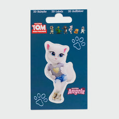 Talking Angela 3D sticker