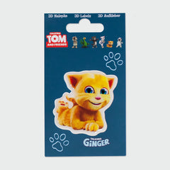 Talking Ginger 3D sticker