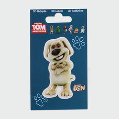 Talking Ben 3D sticker