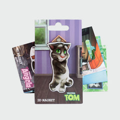 Talking Tom 3D magnet - app background