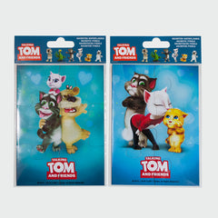 Magnetic jigsaw puzzle - Talking Tom & Angela & Ginger