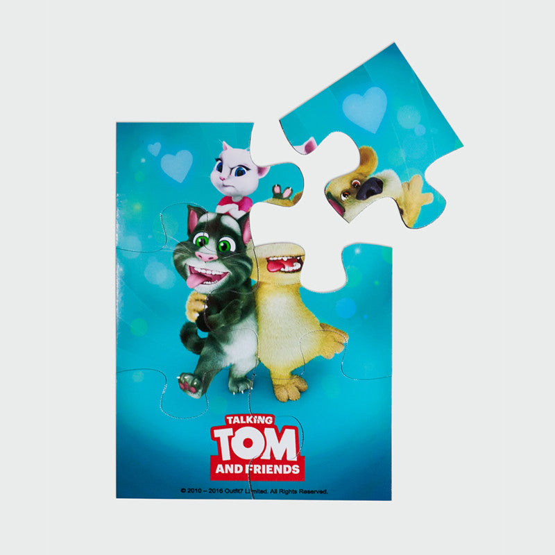 Magnetic jigsaw puzzle - Talking Tom, Ben & Angela