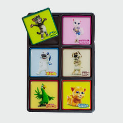 Talking Tom and Friends 3D magnets six-pack